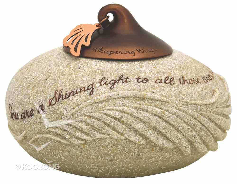 Whispering Wings Tea Light Candle Holder: You Are a Shining Light Homeware