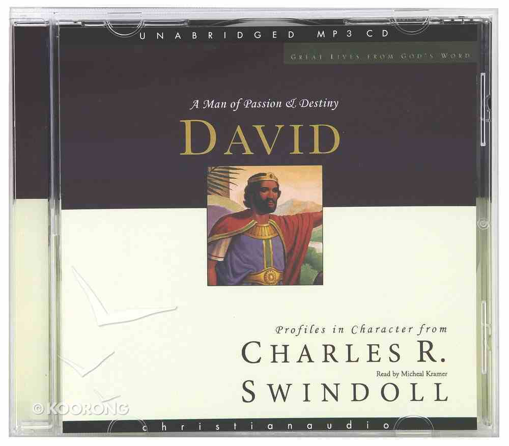 David (Unabridged) (MP3) (Great Lives From God's Word Series) CD