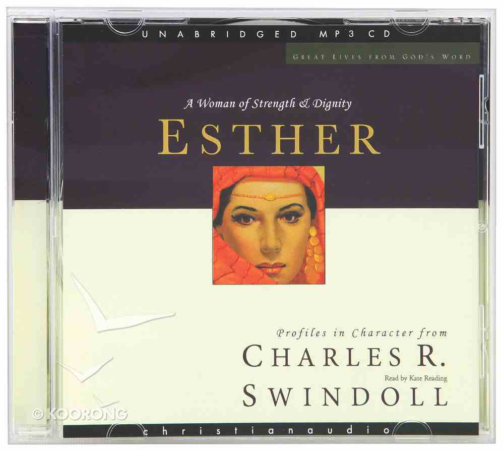 Esther (Unanbridged) (MP3) (Great Lives From God's Word Series) CD
