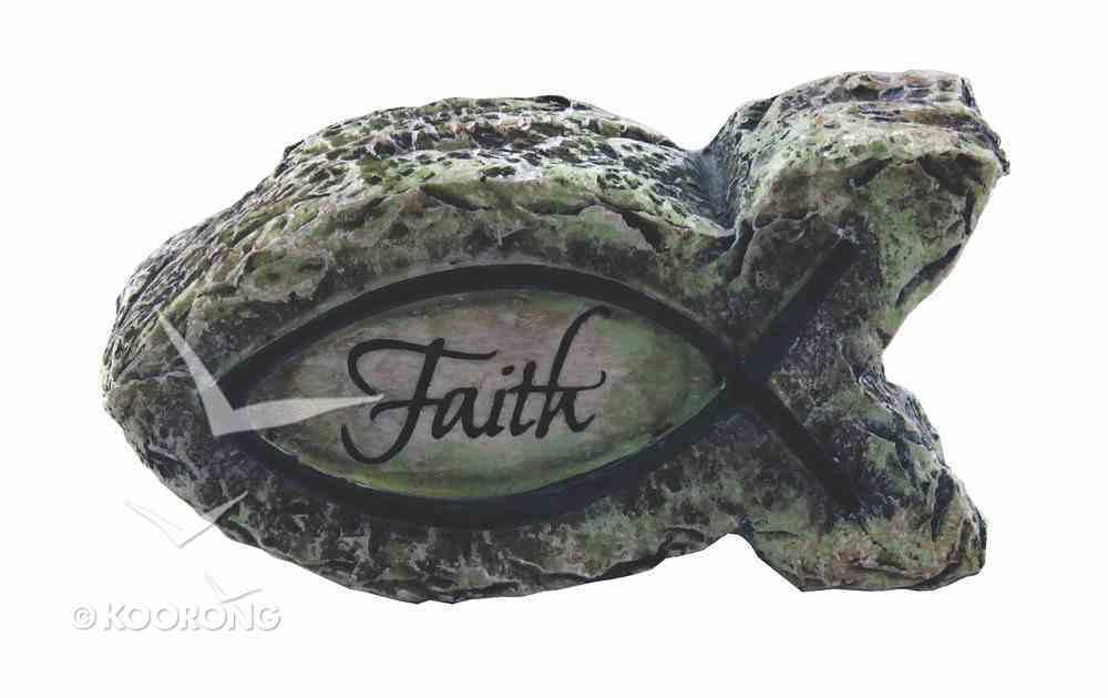 Fish Ornament: Faith (Polyresin) Homeware