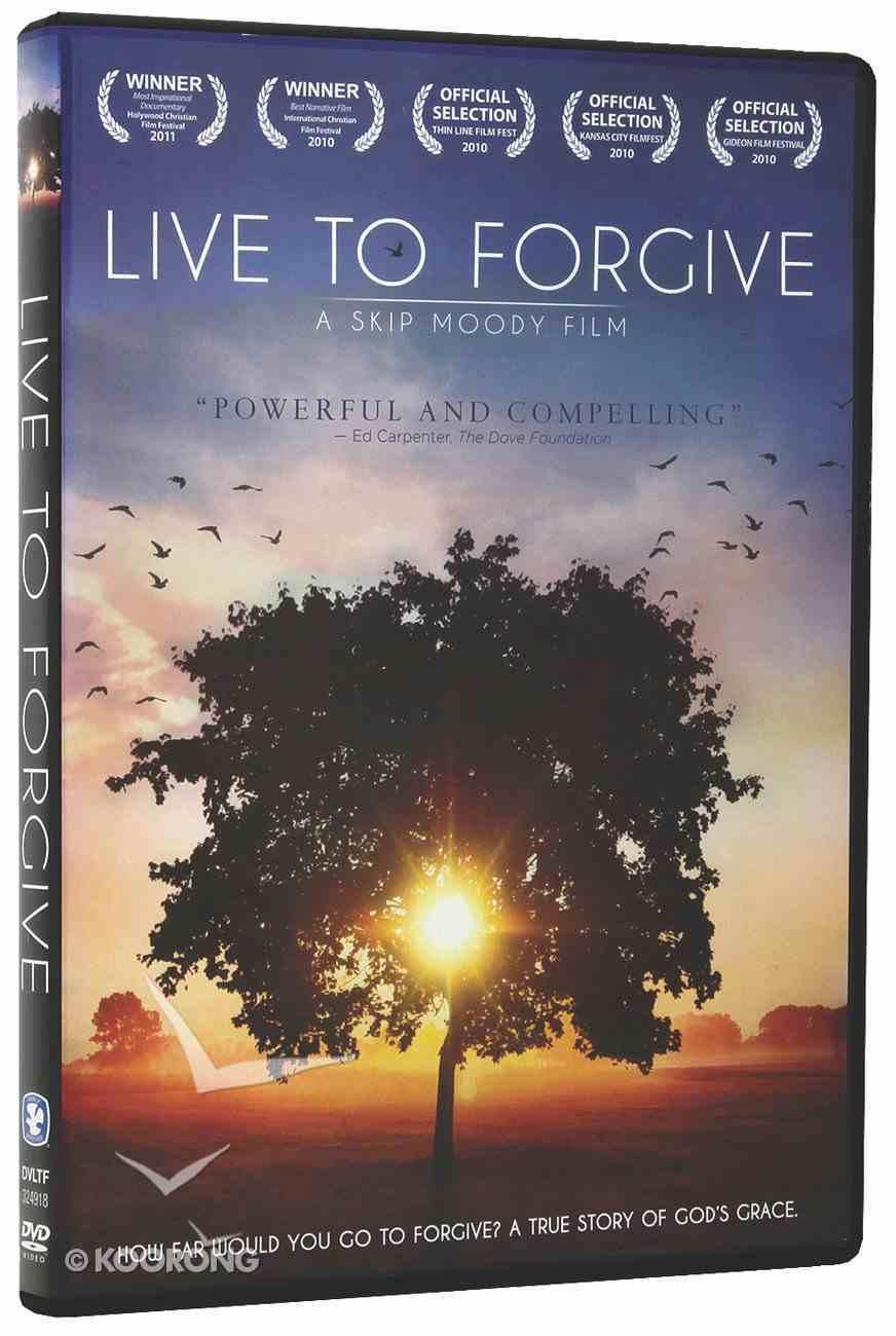 Live to Forgive DVD