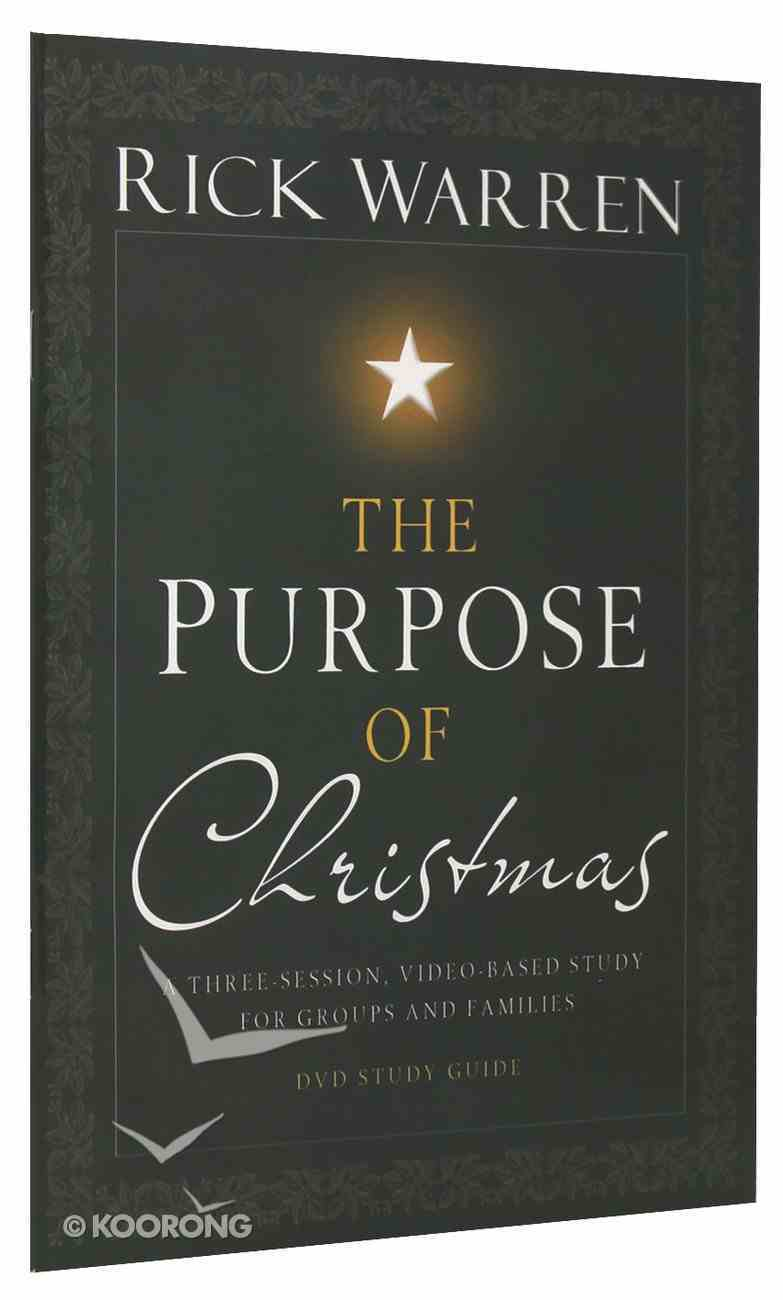 The Purpose of Christmas (Study Guide) Paperback