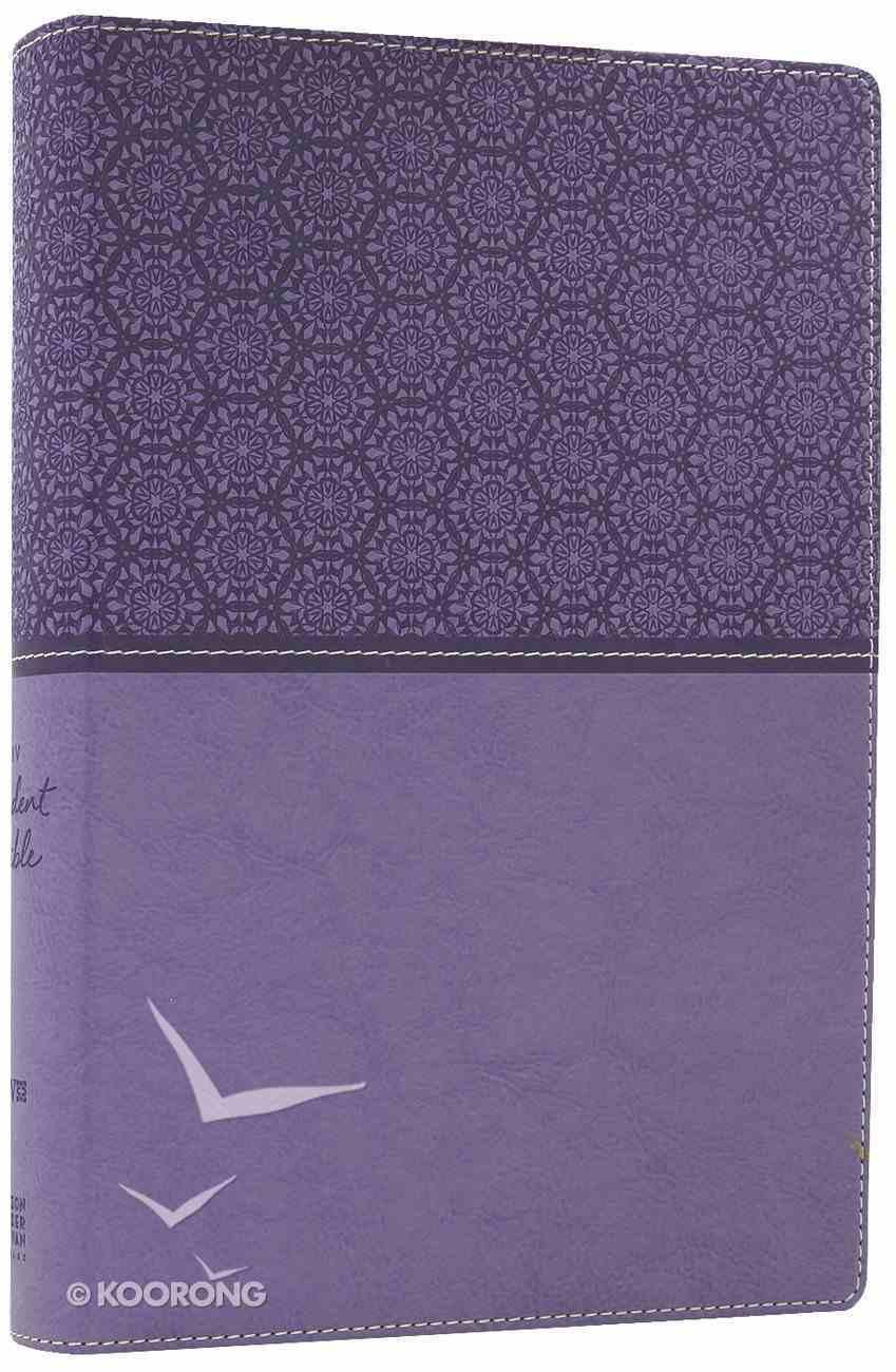 NIV Student Bible Lavender (Black Letter Edition) Premium Imitation Leather
