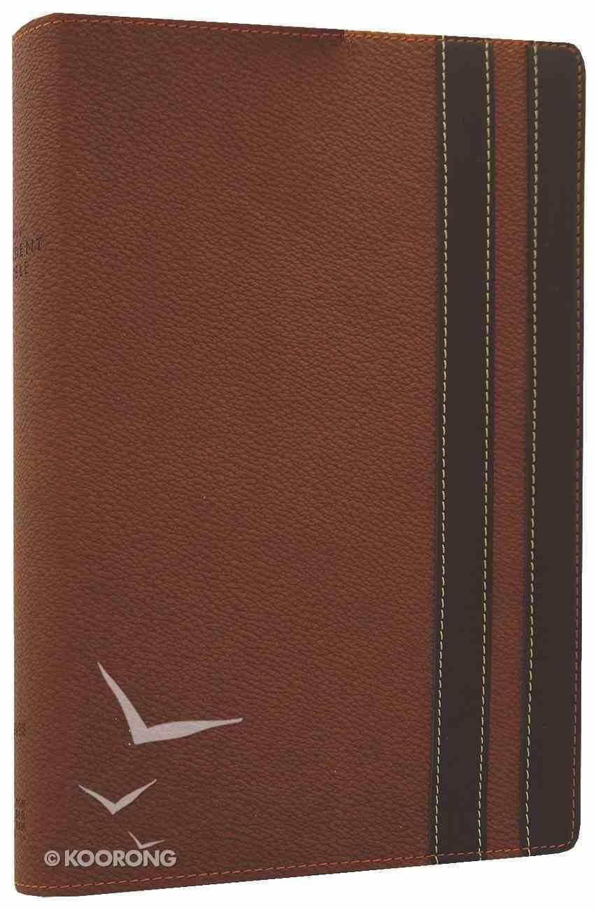 NIV Student Bible Walnut/Espresso (Black Letter Edition) Premium Imitation Leather