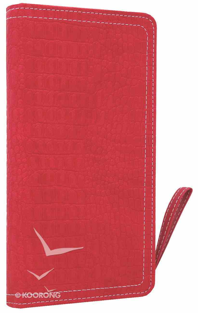 NIV Clutch Bible Hot Pink Duo-Tone (Red Letter Edition) Imitation Leather