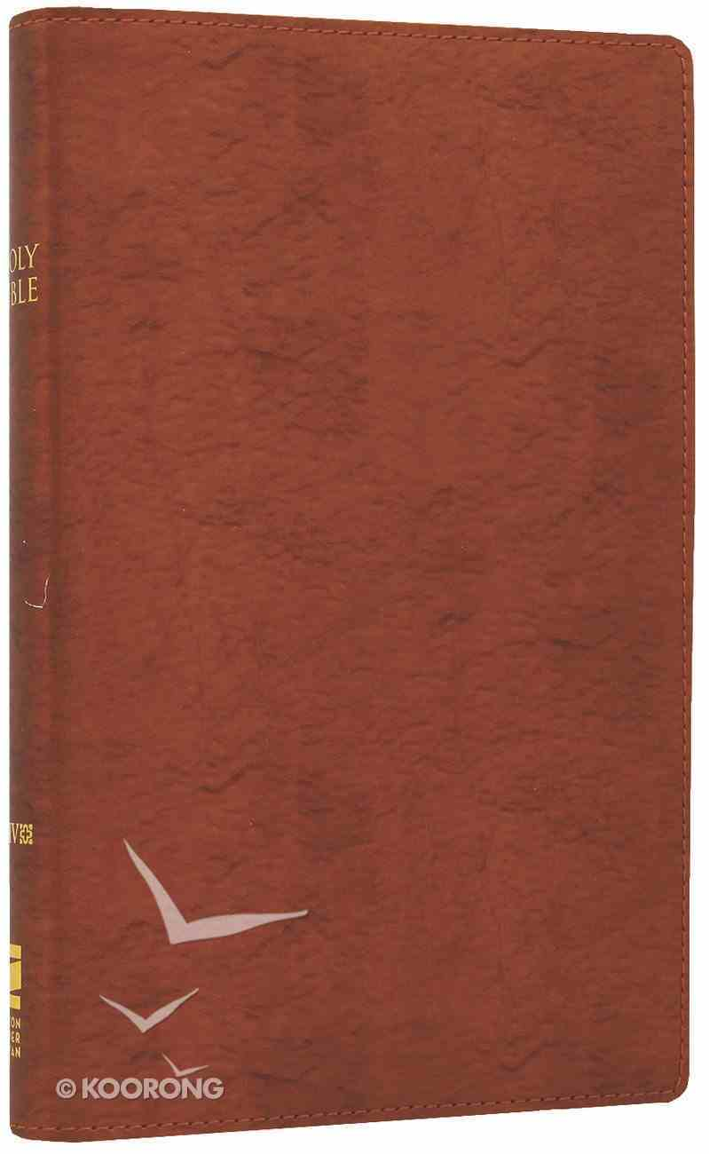 NIV Thinline Bible Metallic Copper (Red Letter Edition) Bonded Leather