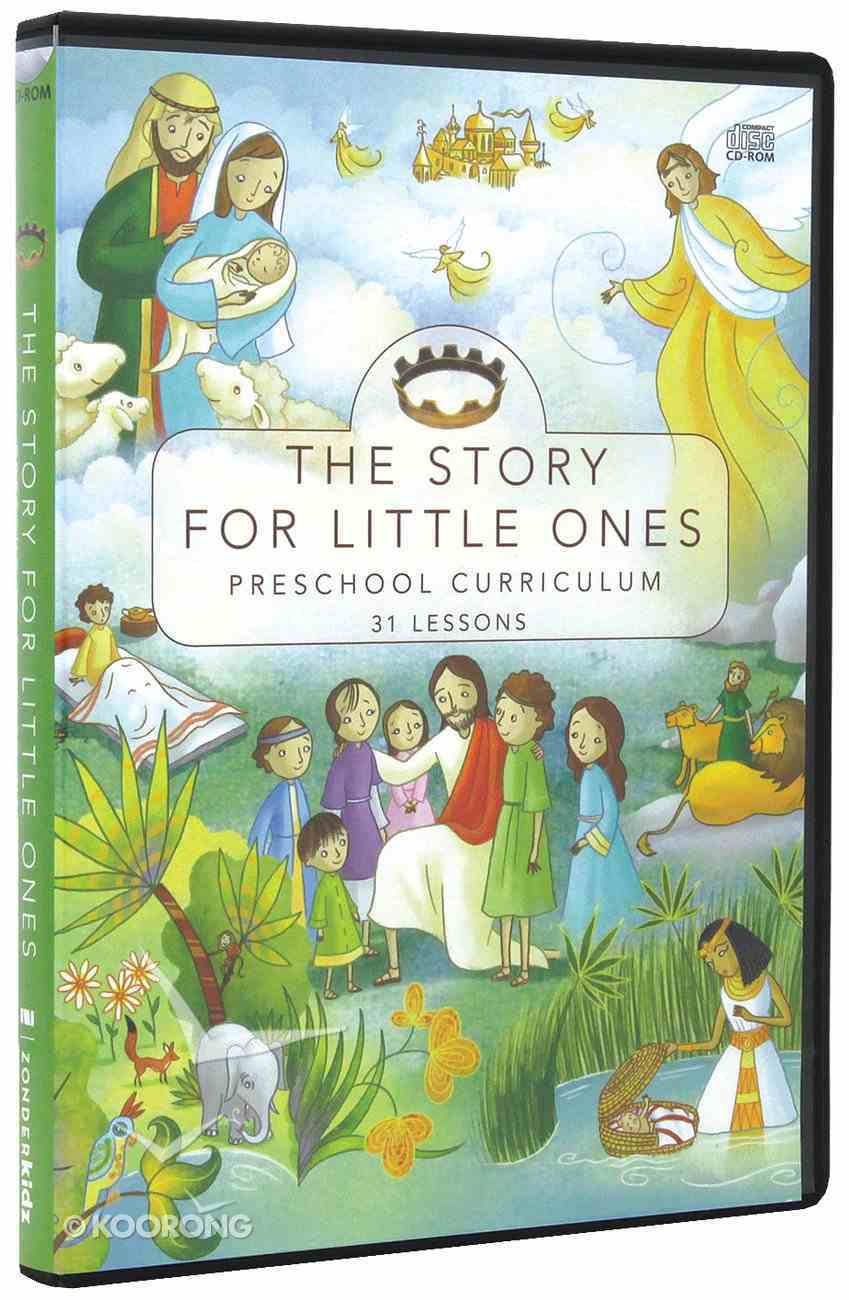 Preschool Curriculum (The Story Series) CD-rom