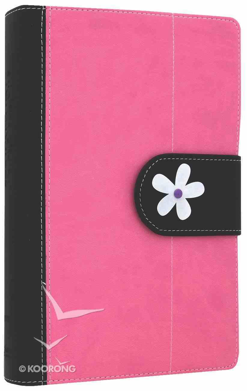 NIV Faithgirlz! Bible Revised Pink/Black (Black Letter Edition) Premium Imitation Leather