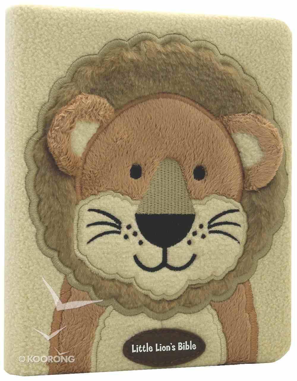 Little Lion's Bible Faux Fur Board Book
