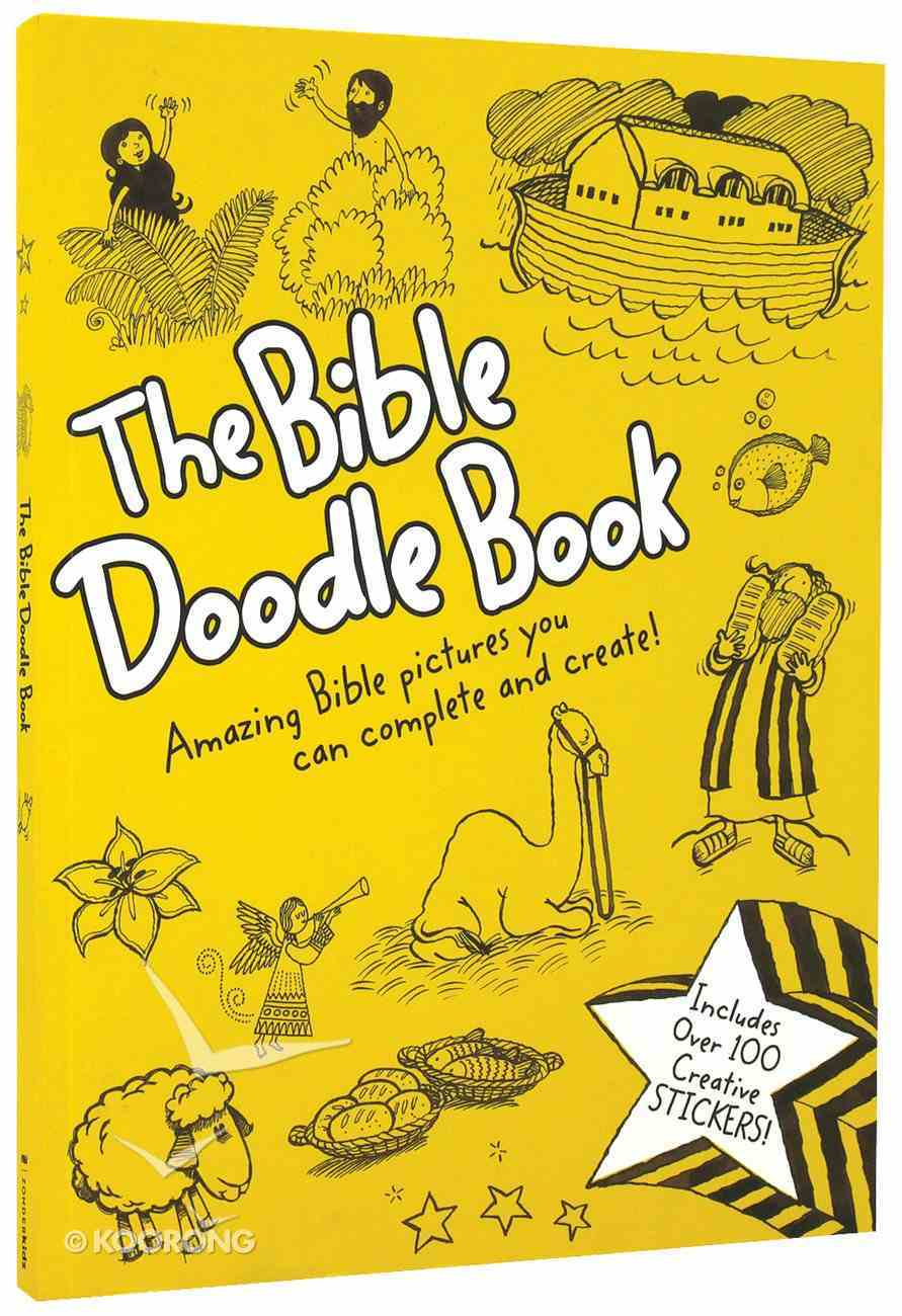 The Bible Doodle Book Paperback