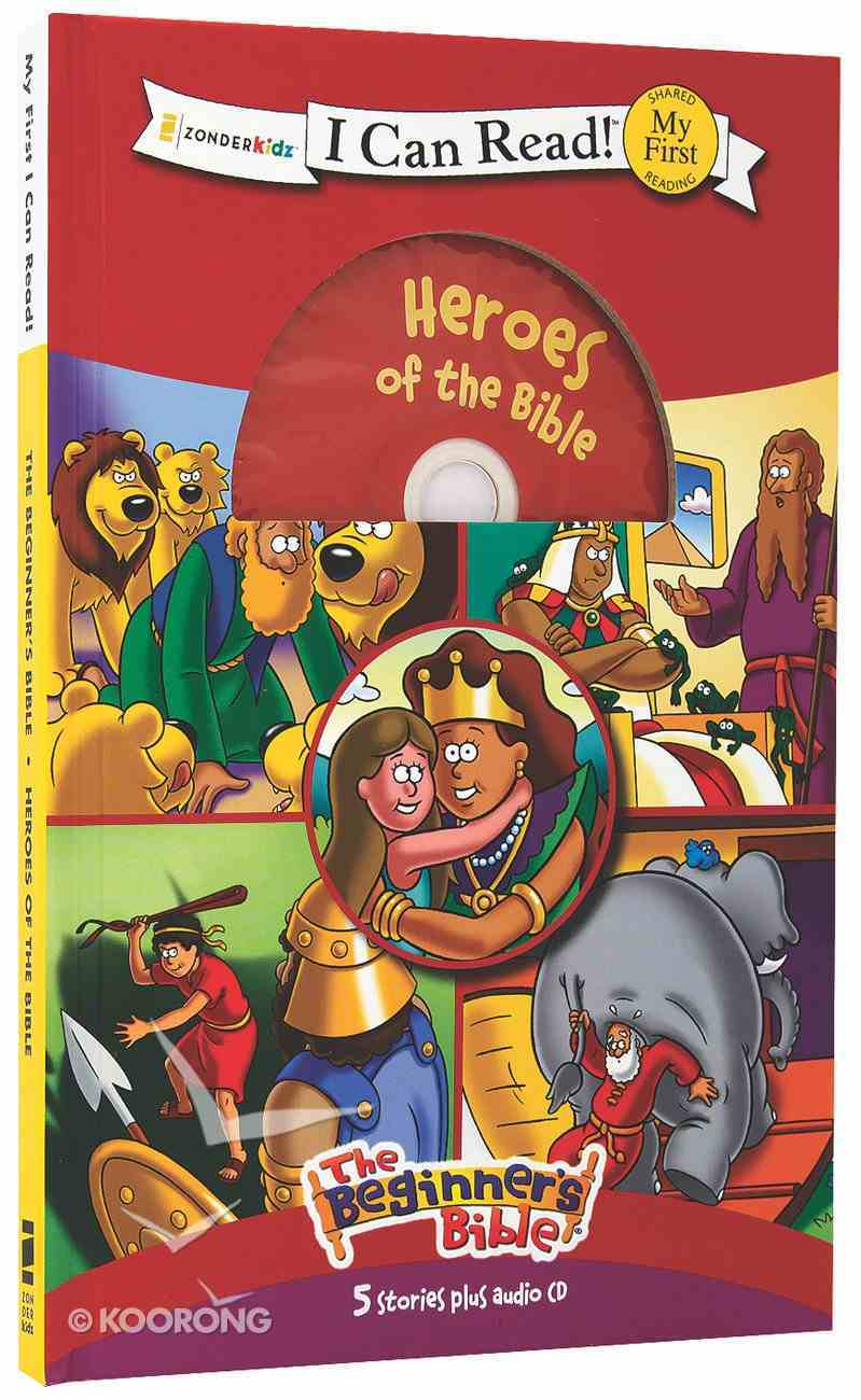 Heroes of the Bible - 5 Stories With Audio CD (My First I Can Read/beginners Bible Series) Hardback