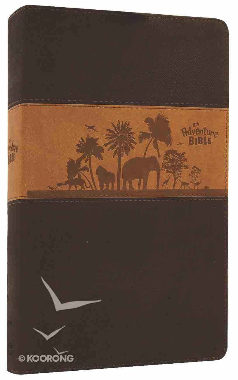 NIV Adventure Bible Chocolate/Toffee Duo-Tone Imitation Leather
