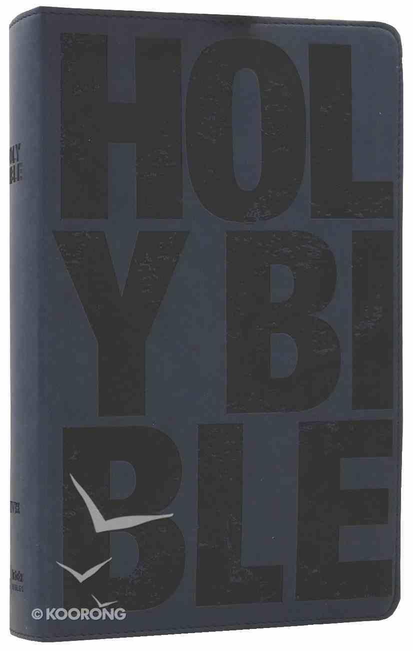 NIV Boys Bible Slate Blue (Black Letter Edition) Premium Imitation Leather