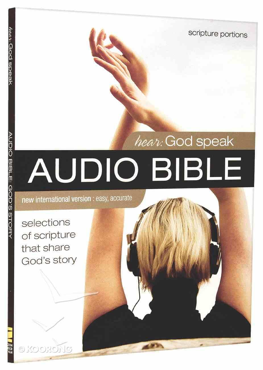 NIV Hear God Speak Audio Bible Selections of Scripture That Share God's Story (2 Cds) CD