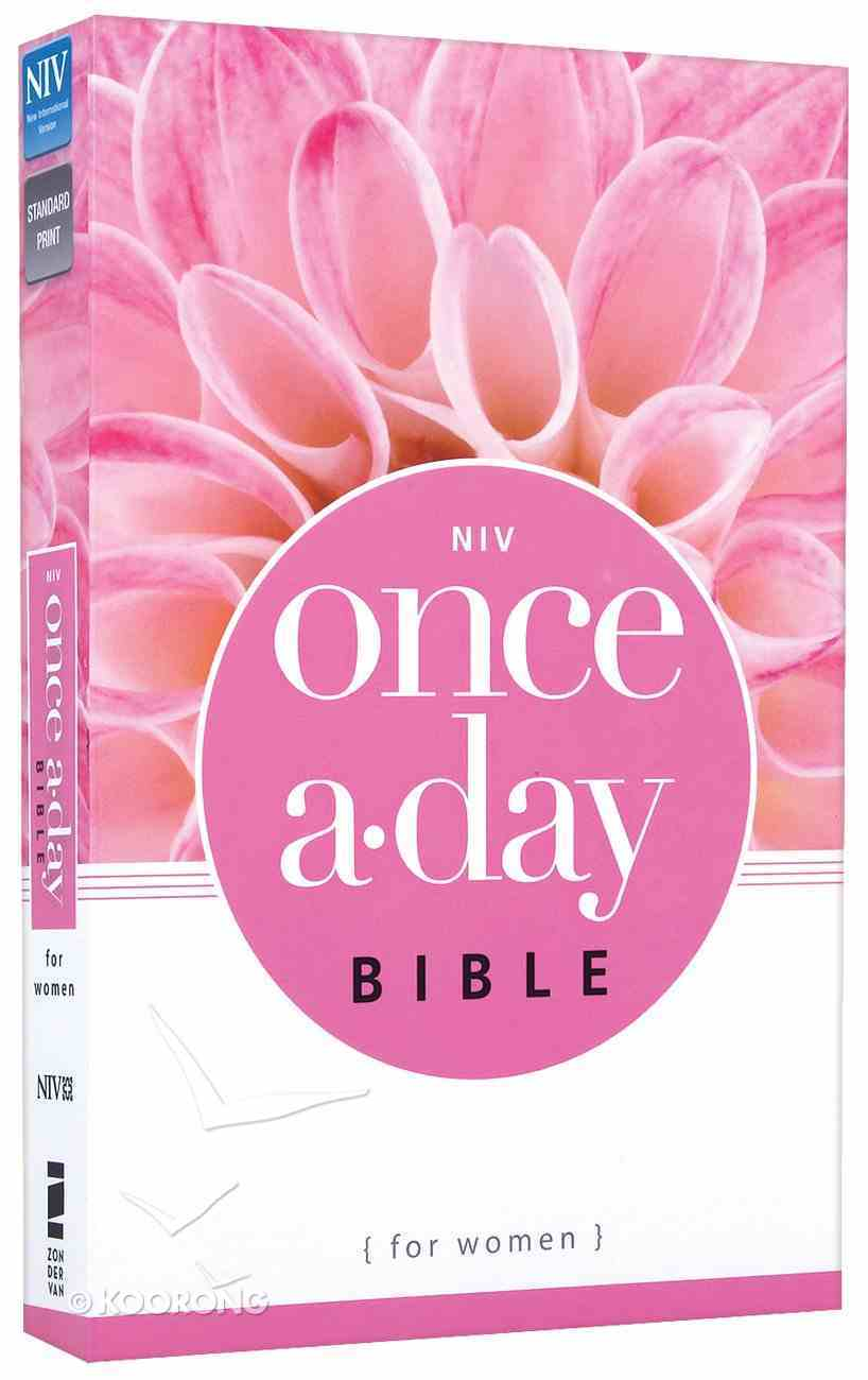 NIV Once-A-Day Bible For Women (Black Letter Edition) Paperback
