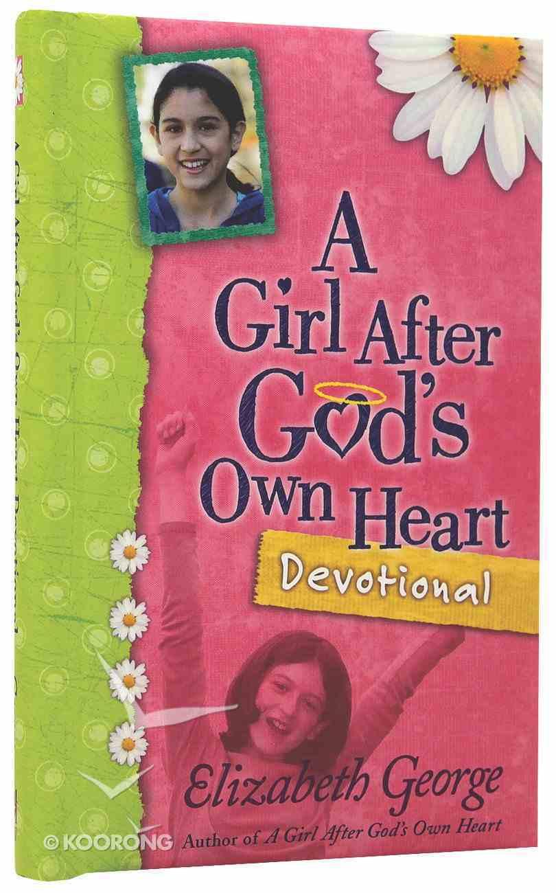A Girl After God's Own Heart Devotional Hardback