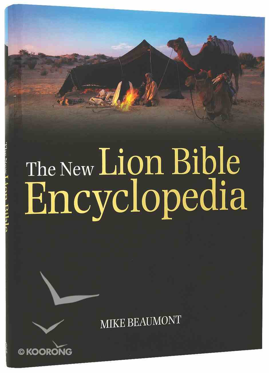 The New Lion Bible Encyclopedia Hardback