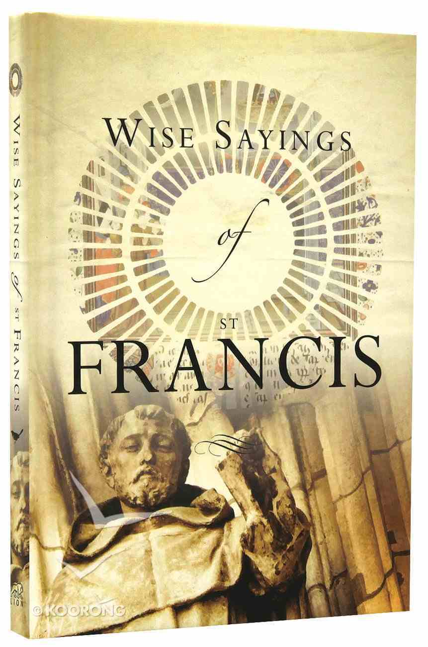 Wise Saying of St Francis Hardback