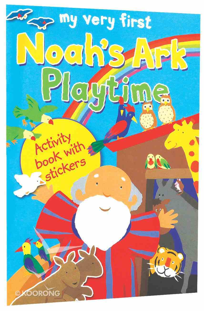 My Very First Noah's Ark Playtime Paperback