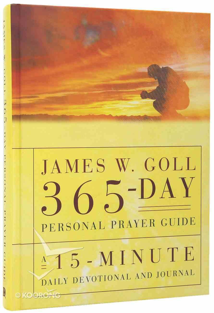 James W Goll 365 Day Personal Prayer Guide Hardback
