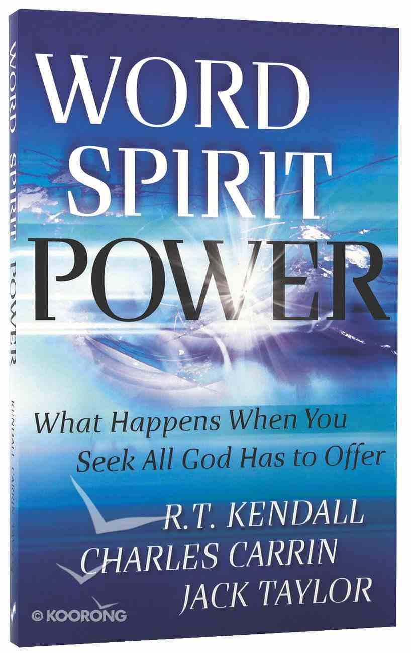 Word Spirit Power Paperback