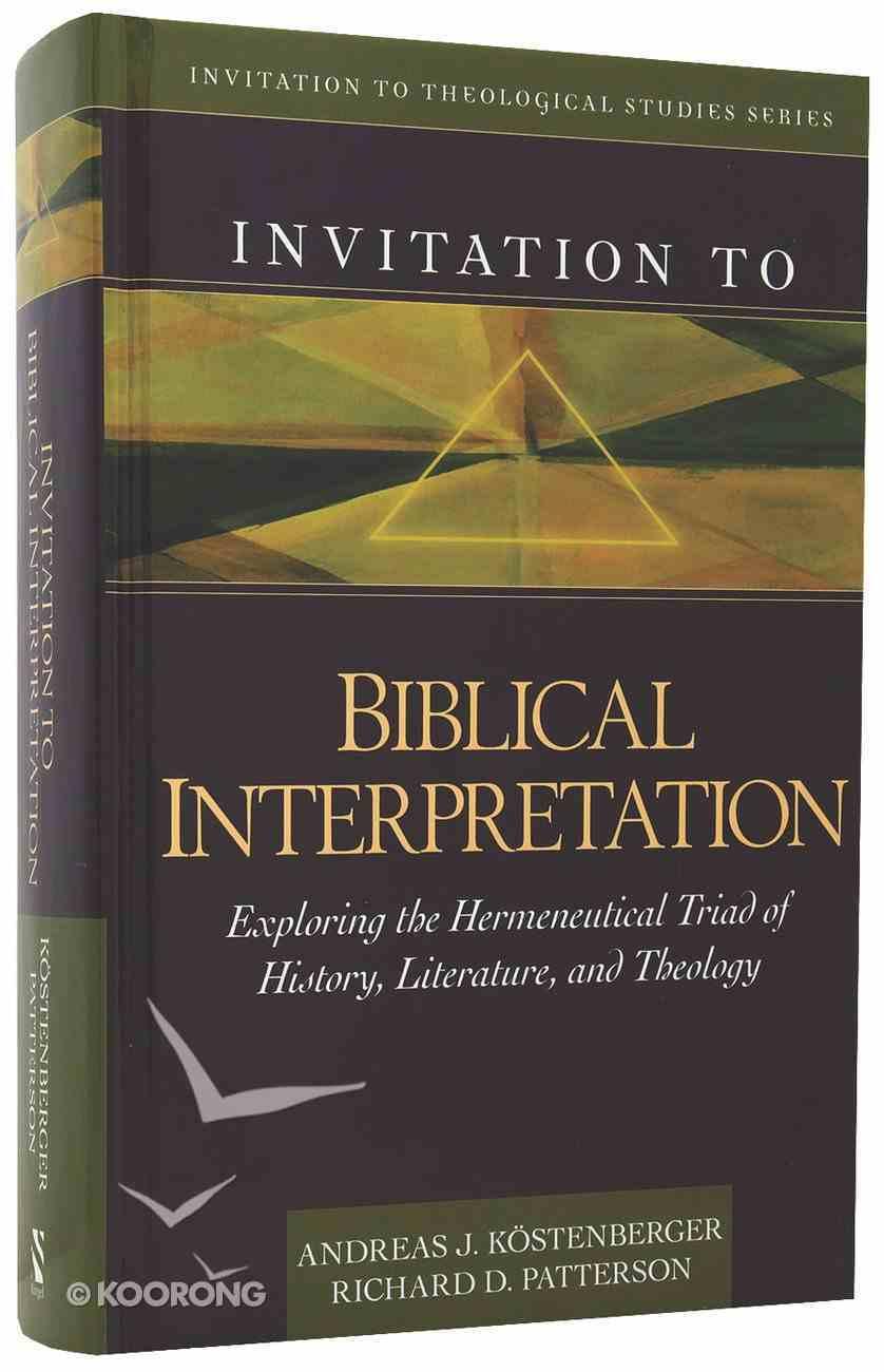 Invitation to Biblical Interpretation Hardback
