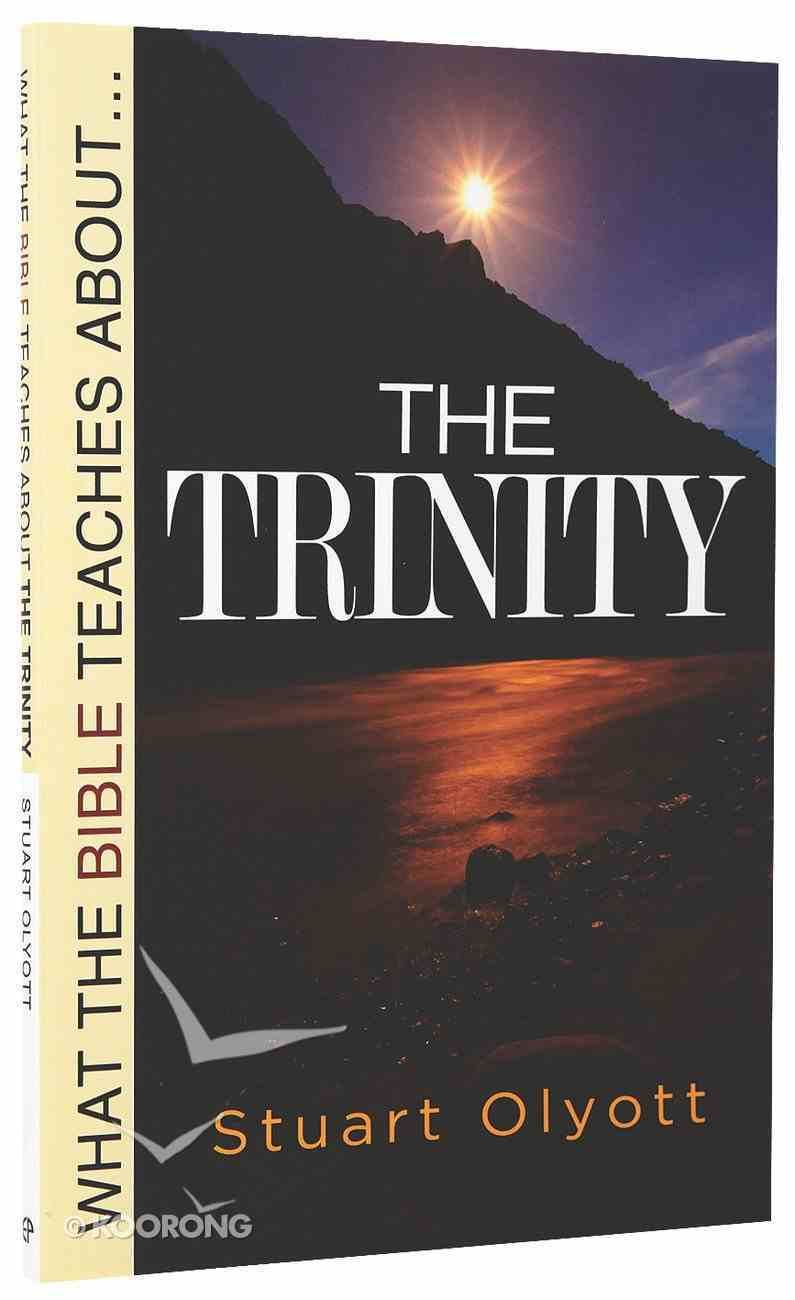 What the Bible Teaches About the Trinity Paperback