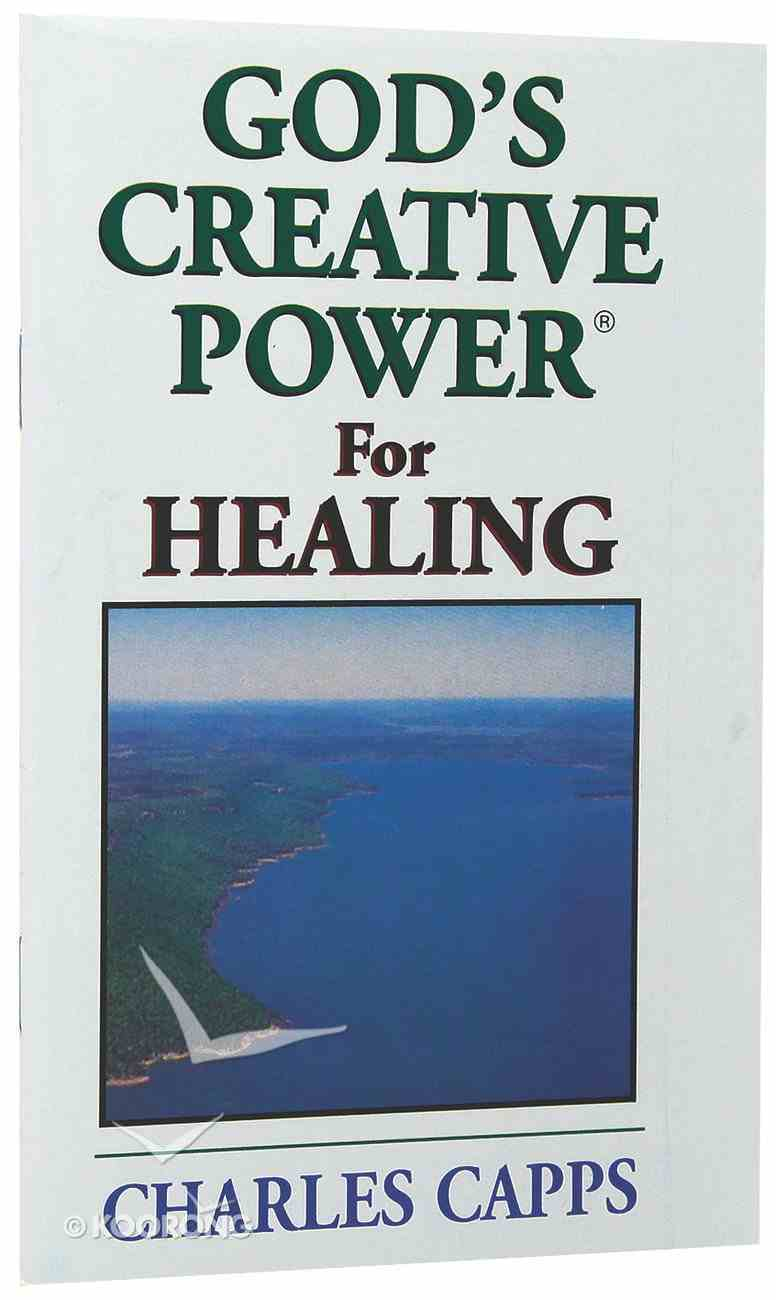 God's Creative Power For Healing (Single) Booklet