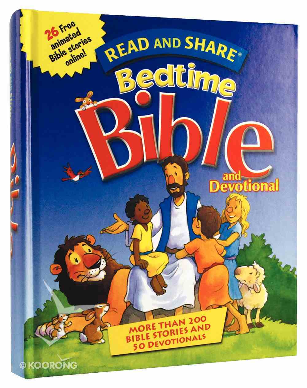Read and Share Bedtime Bible and Devotional (Read And Share Dvd Series) Hardback