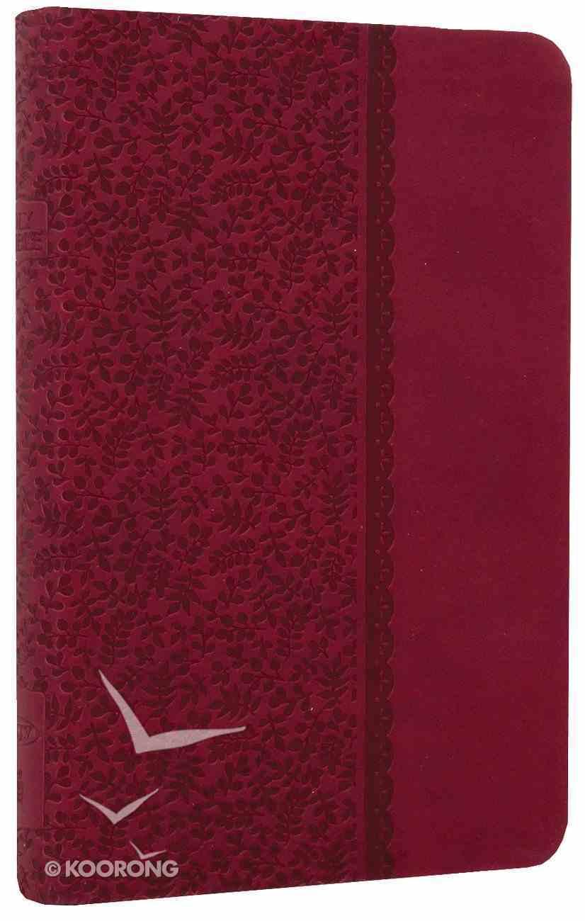 NKJV Compact Ultraslim Bible Berry Premium Imitation Leather