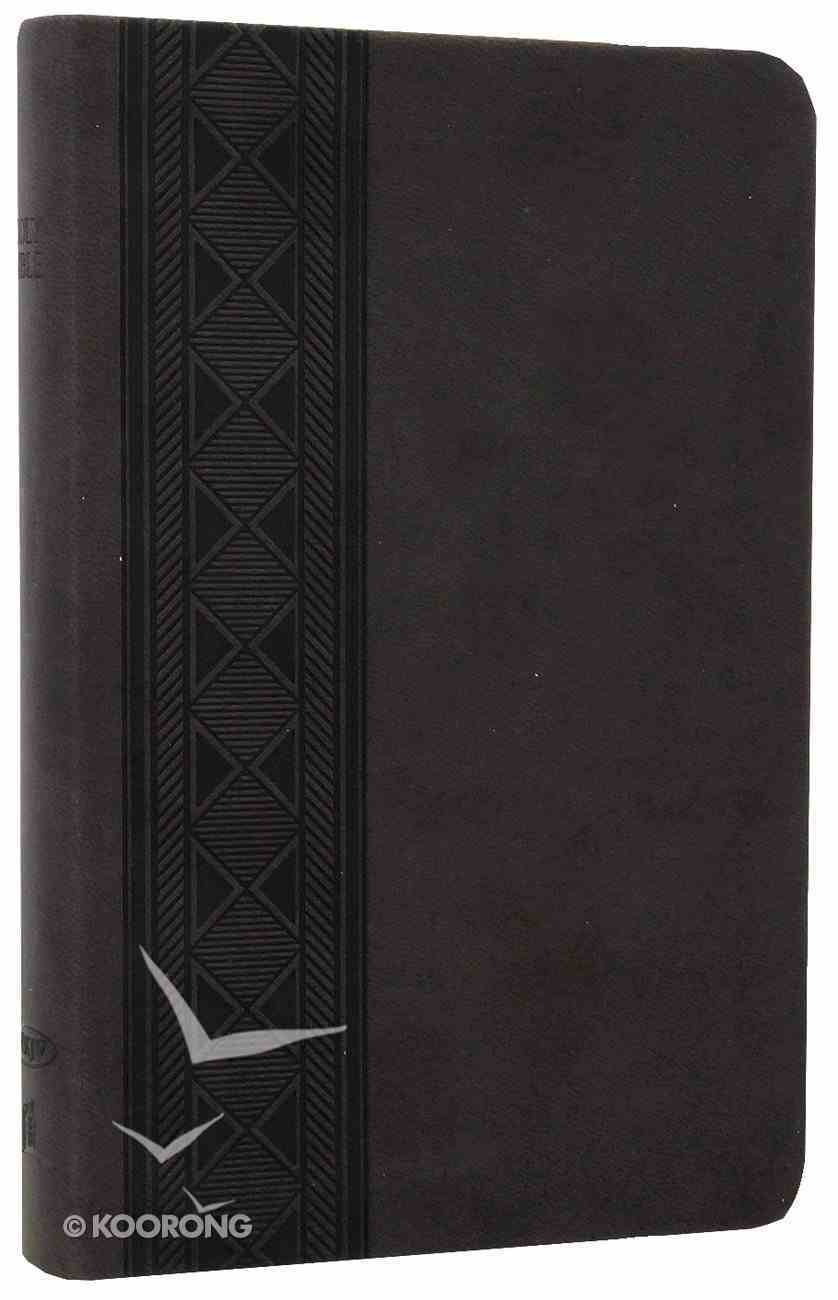 NKJV Compact Ultraslim Bible Smoke Premium Imitation Leather