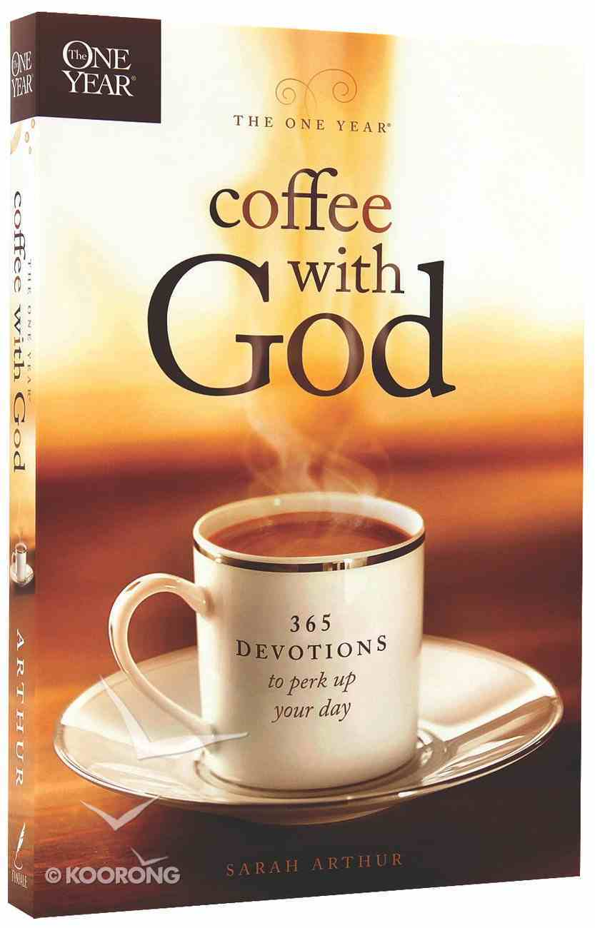 The One Year Coffee With God Devotional Paperback