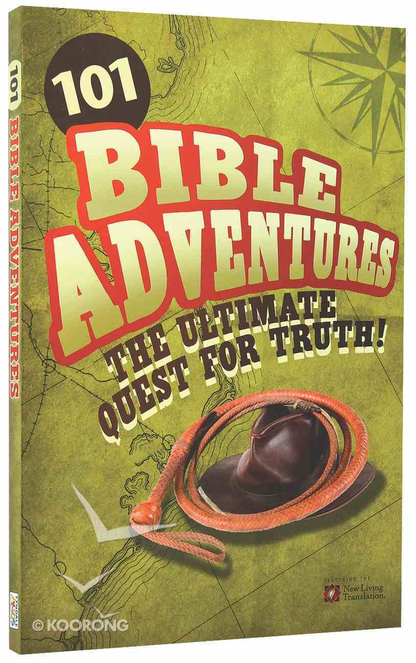 101 Action Adventures From the Bible (Nlt) Paperback