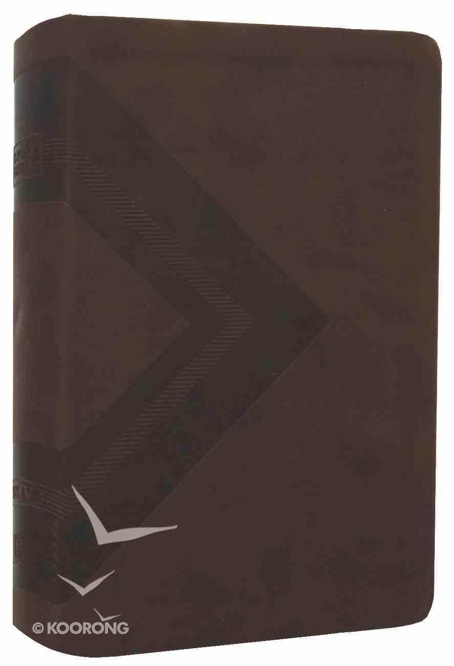 NKJV Gift Bible Earth Brown Premium Imitation Leather