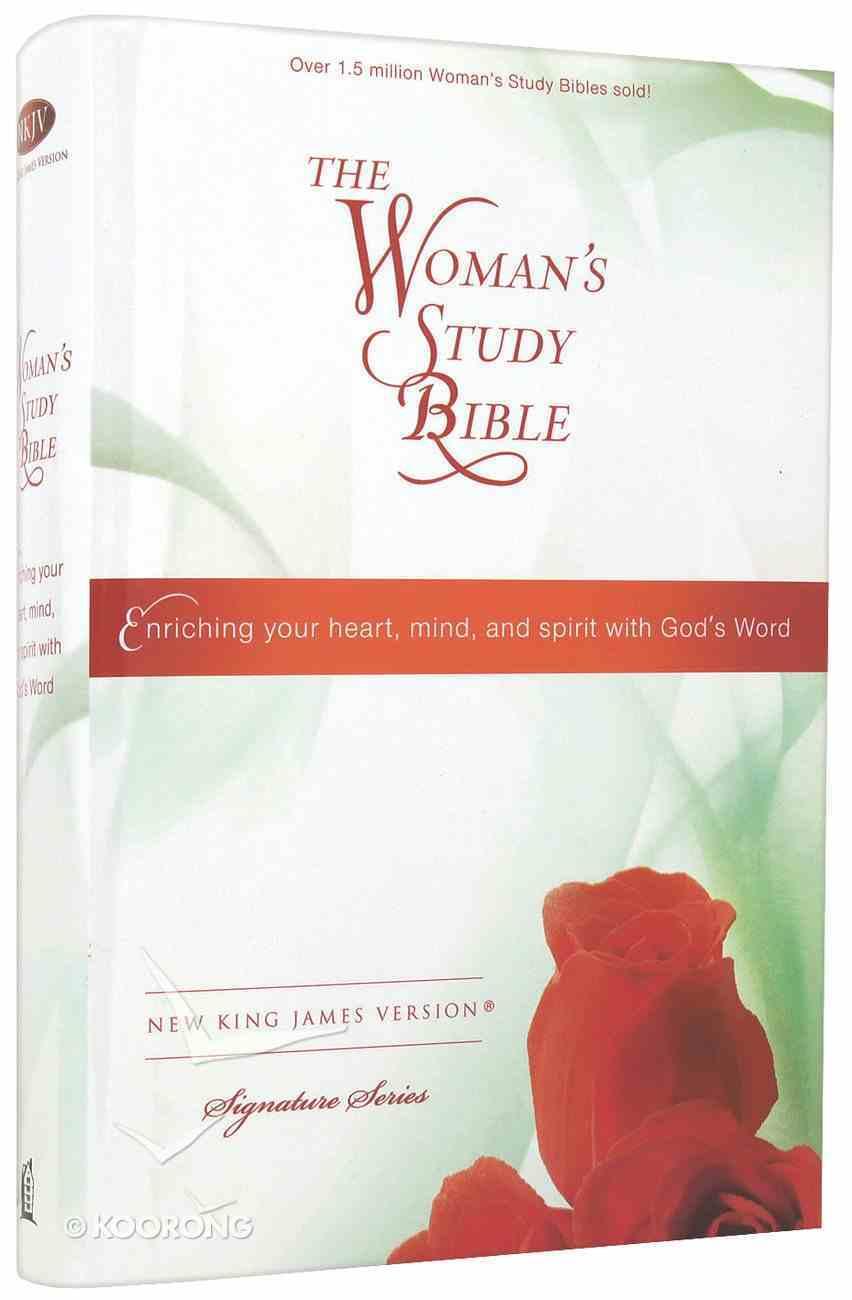 NKJV Woman's Study Bible Multi-Colour Hardback