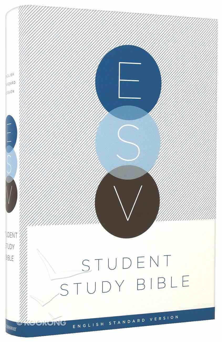 ESV Student Study Bible Hardback
