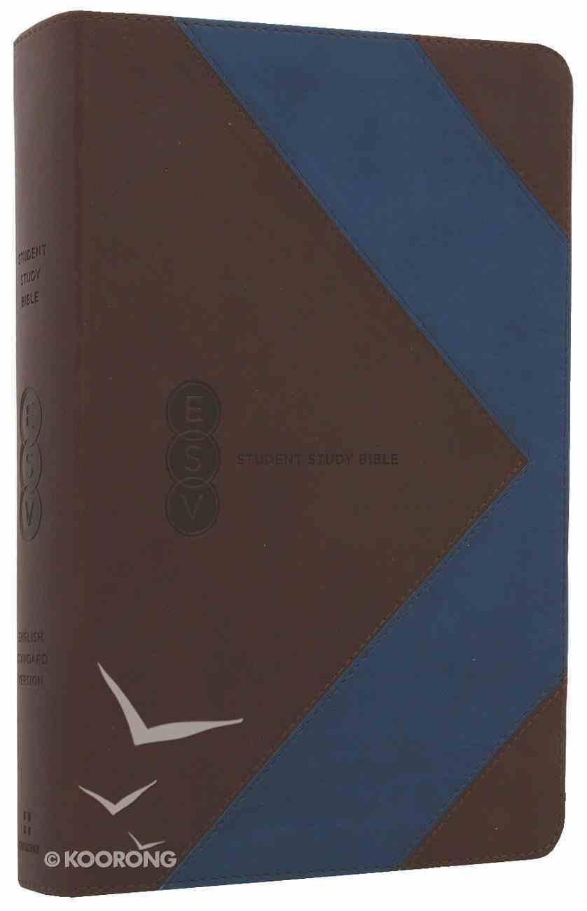 ESV Student Study Bible Brown/Blue Arrow Trutone Imitation Leather