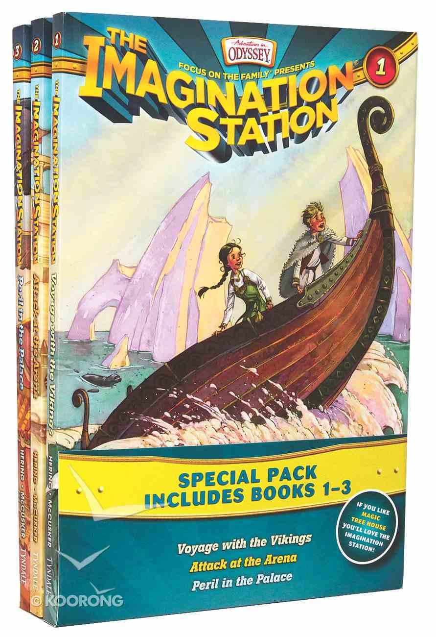 Aio Imagination Station: 3 Pack (Volume 1-3) (Adventures In Odyssey Imagination Station (Aio) Series) Pack