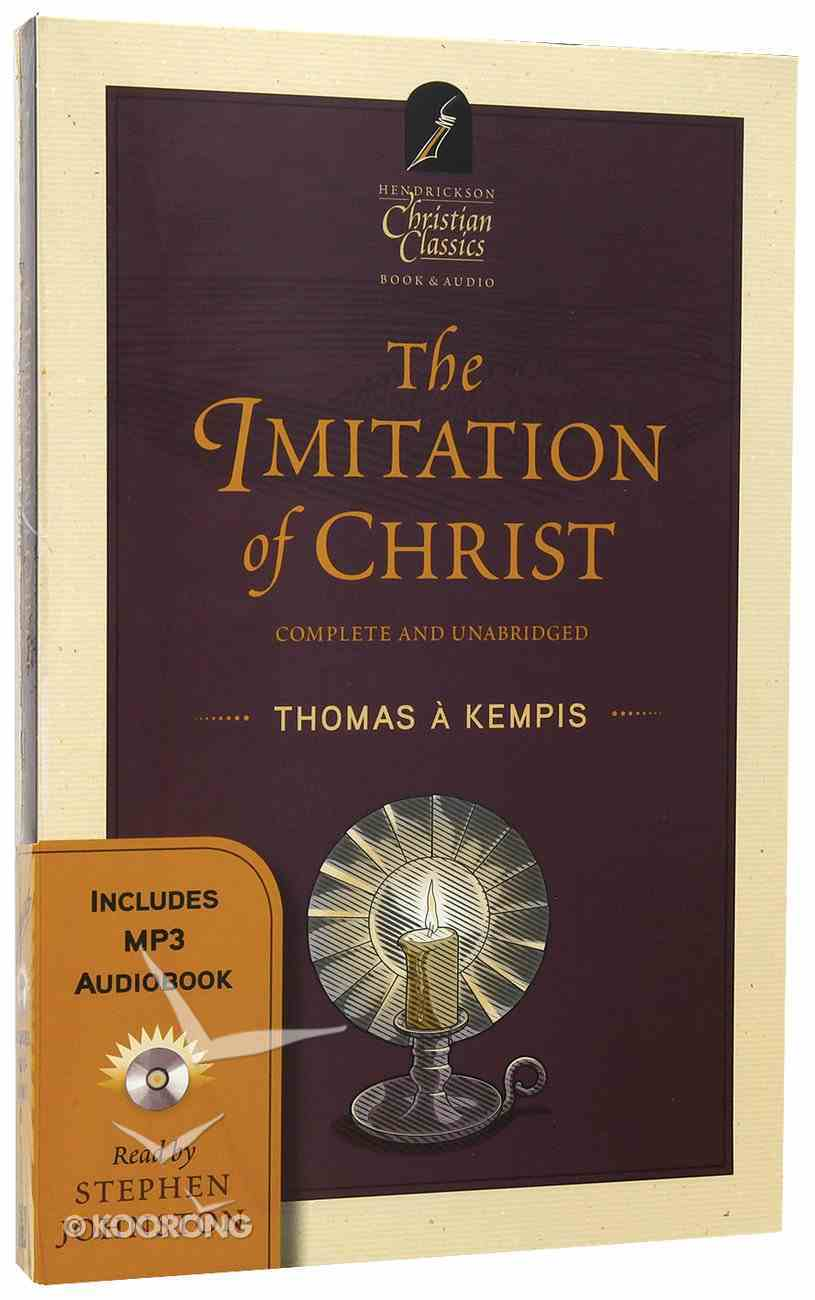 The Imitation of Christ (With MP3 Audiobook) (Hendrickson Christian Classics Series) Pack