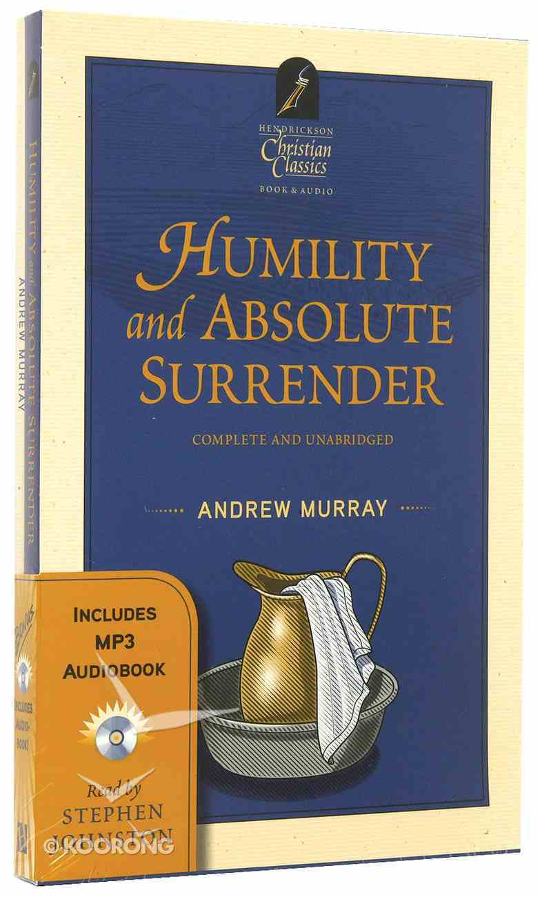 Humility and Absolute Surrender (With MP3 Audiobook) (Hendrickson Christian Classics Series) Pack
