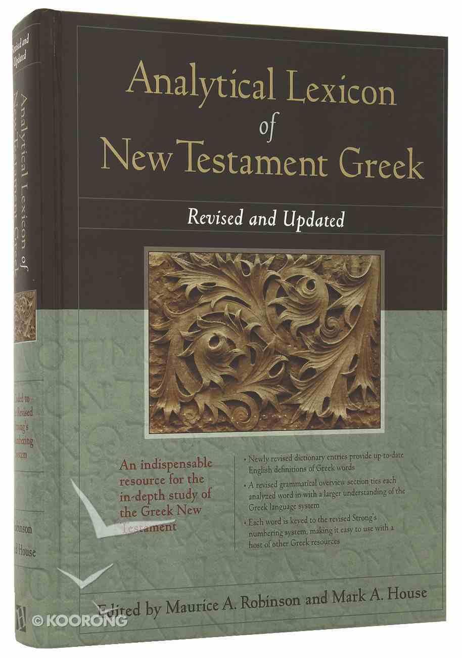 Analytical Lexicon of New Testament Greek Hardback