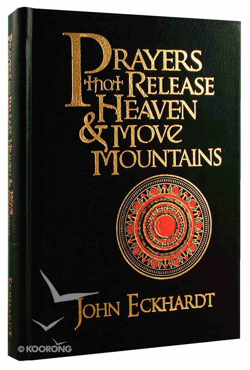 Prayers That Release Heaven and Move Mountains Bonded Leather