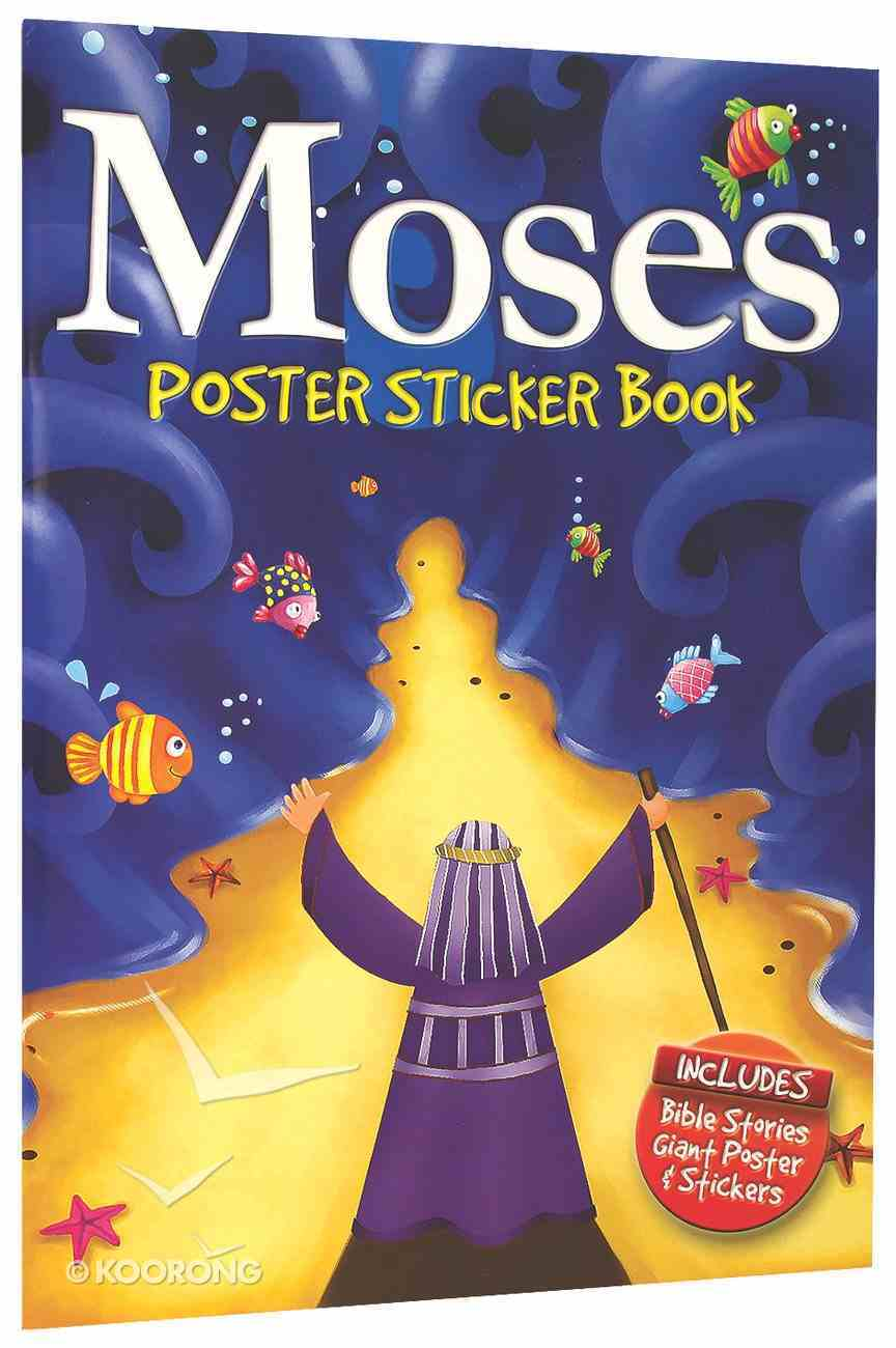 Moses Poster Sticker Book Paperback