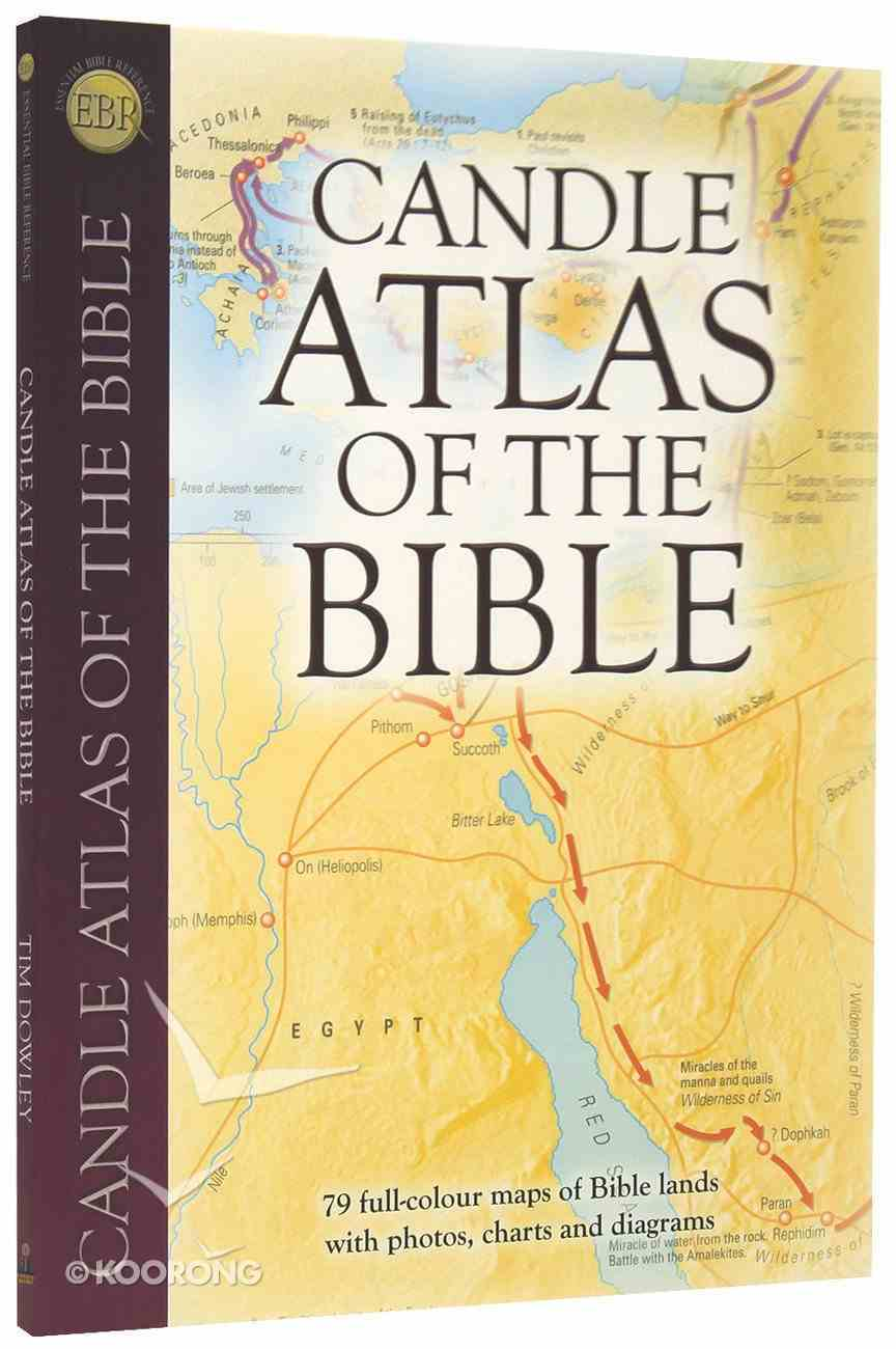 Candle Atlas of the Bible Paperback