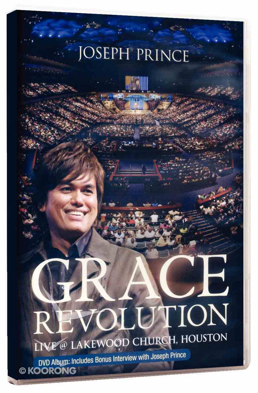 Grace Revolution - Lakewood Church, Houston (4 Dvds) DVD
