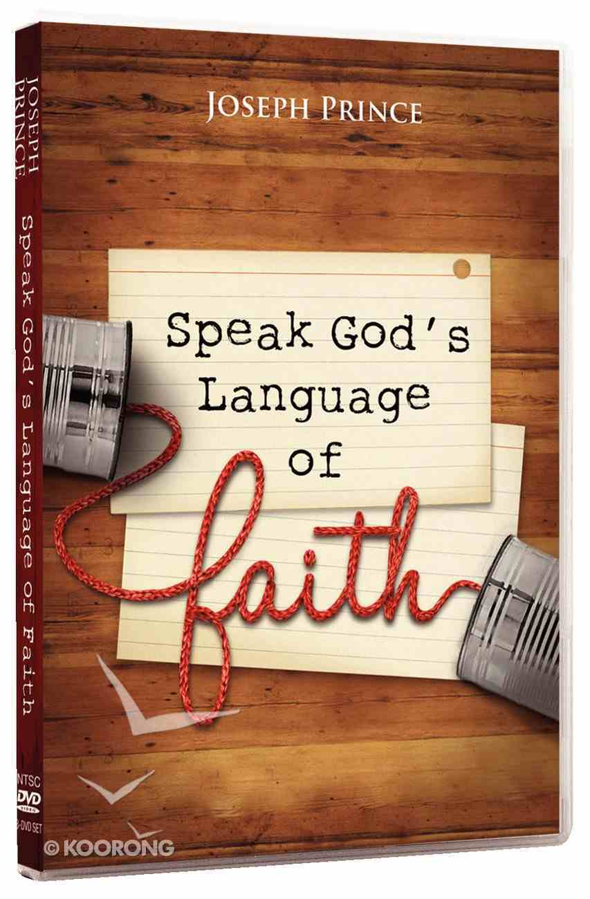 Speak God's Language of Faith (3 Dvds) DVD