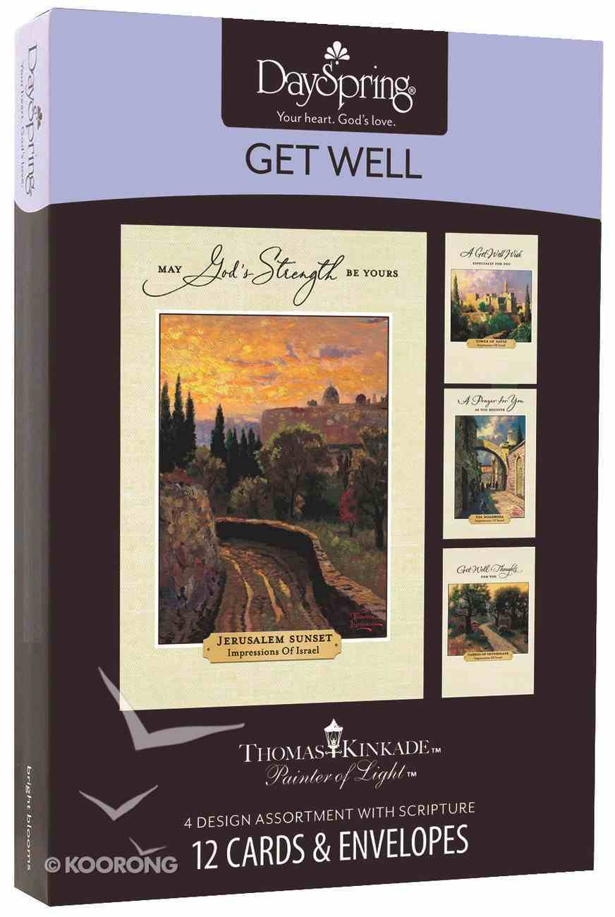 "Boxed Cards Get Well: Thomas Kinkade - ""Painter of Light"" Box"