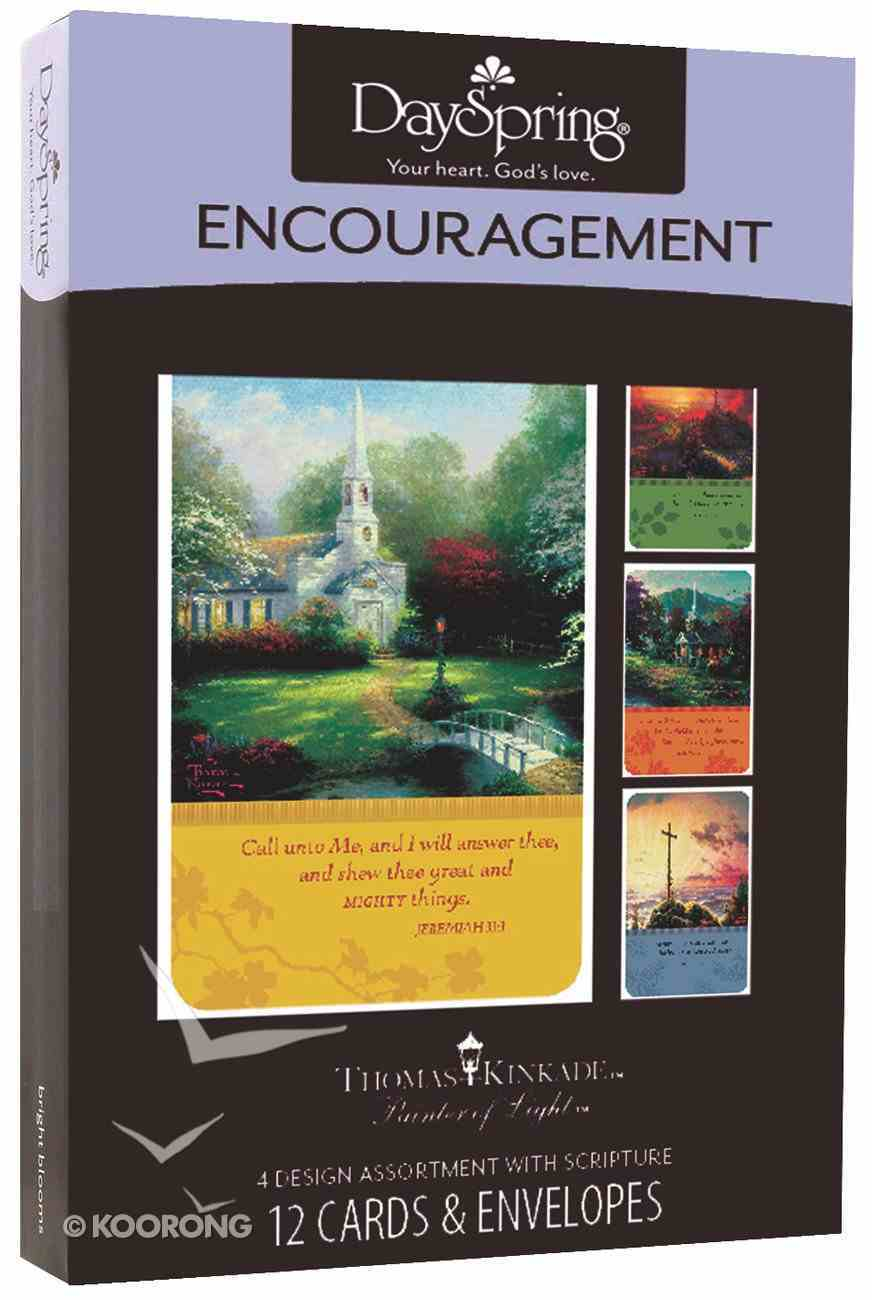 """Boxed Cards Encouragement: Thomas Kinkade - """"Painter of Light"""" Box"""