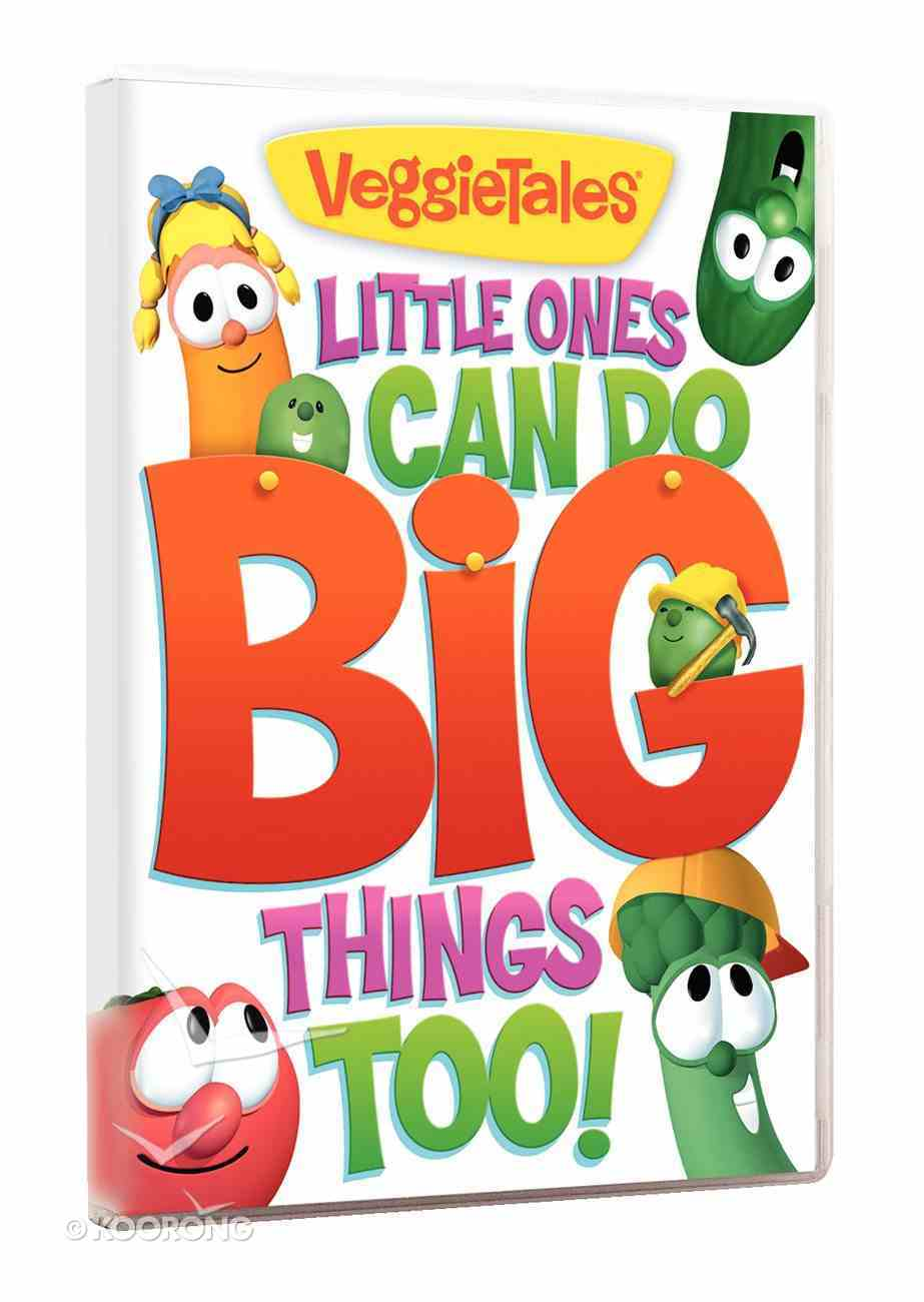 Veggie Tales #50: Little Ones Can Do Big Things Too (#050 in Veggie Tales Visual Series (Veggietales)) DVD