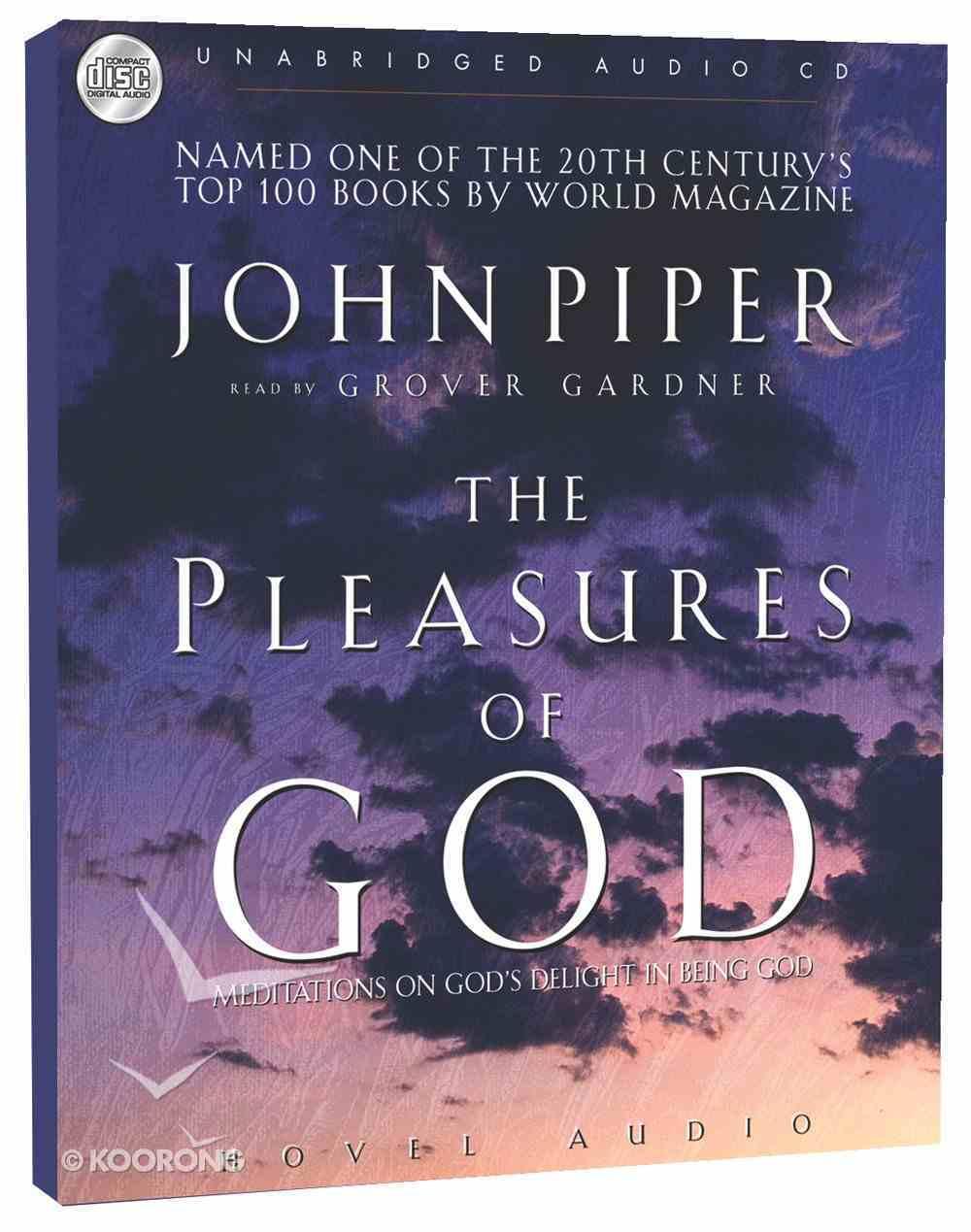 The Pleasures of God (Mp3) CD